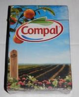 JEUX DE CARTES  PUBLICITE DE COMPAL  -  PORTUGAL - Speelkaarten