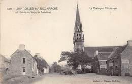 Saint Gilles Vieux Marché       22       Vallée  Du Poulancre  L'Entrée Su Bourg    (voir Scan) - Saint-Gilles-Vieux-Marché