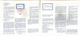 V) 1986 MEXICO, THE FIFTEENTH PAN-AMERICAN HIGHWAYS CONGRESS, FDB - Mexico