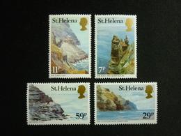 Saint Helena, 1983 Coastline From Jamestown Scott #382-385 MNH Cv. 2,20$ - Isola Di Sant'Elena