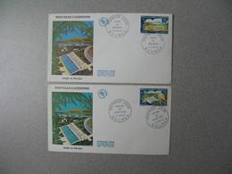 FDC Nouvelle-Calédonie 1967  N° 327 Et 328  Stade De Magenta - Briefe U. Dokumente