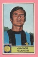 Figurina Panini Giacinto Facchetti, Inter 1971/72 - Trading Cards