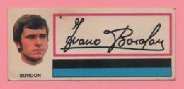 Figurina Panini Fuori Raccolta 1971/72 Con Velina - Bordon - Trading Cards