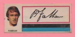 Figurina Panini Fuori Raccolta 1971/72 Con Velina - Fabbian - Trading Cards