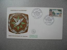 FDC Nouvelle-Calédonie 1967  N° 339 Année Internationale Du Tourisme - Briefe U. Dokumente