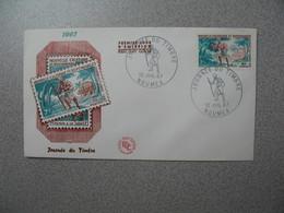 FDC Nouvelle-Calédonie 1967  N° 340 Journée Du Timbre - Briefe U. Dokumente