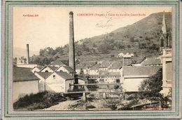 CPA - CORNIMONT (88) - Aspect De L'Usine De Tissage Du Daval Sur Les Bords De La Moselotte En 1918 - Cornimont