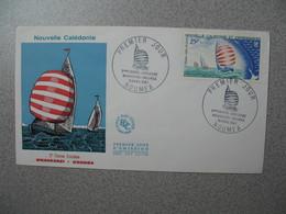 FDC Nouvelle-Calédonie 1967  N° PA 91  2 ème Course - Croisière Whangarei-Nouméa - Briefe U. Dokumente