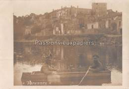 CARTE PHOTO ALLEMANDE VARENNES - France