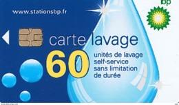 # Carte A Puce Portemonnaie  Lavage BP - Goutte - 60u Puce1? Aspect Mat - Tres Bon Etat - - Frankrijk