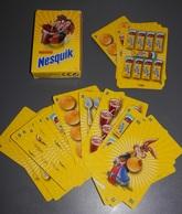 JEUX DE CARTES  PUBLICITE DE  NESQUIK - Speelkaarten