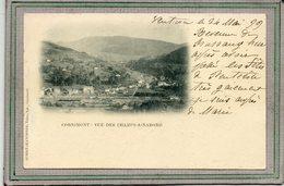 CPA - CORNIMONT (88) - Aspect Sur Les Champs-a-Nabord En 1899 - Cornimont
