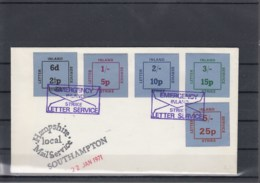GB Michel Cat.No. Cover Strike Postsouthampton - 1952-.... (Elizabeth II)