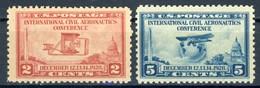 "1928 United Sates MNH OG Complete Set Of 2 Stamps ""Aeronautics Conference"" Cat. # 314-315 - United States"