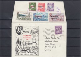 GB Michel Cat.No. Herm Cover Europ 1961 - Regional Issues