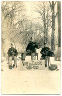 7500 TOURNAI - Trois Soldats Musiciens Du 3e Chasseur à Pied - MILITARIA - Carte Photo - Tournai