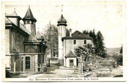 Vaud - 1236 CARTIGNY - Le Château - Siège D'une Organisation Philantropique Les Amis De L'Homme - L'entrée - VD Vaud