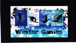 Olympics 2014 - Biathlon - GUYANA - S/S MNH - Winter 2014: Sochi