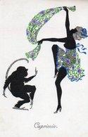 98Aa   Illustrateur Paul Süss Tanz Silhouetten Capriccio Singe - Illustratoren & Fotografen