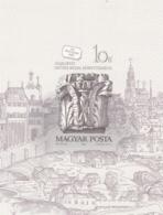 1987, Ungarn, 3920 Block 191 B, MNH **, Tag Der Briefmarke: Bauplastik Aus Der Burg Buda. - Hojas Bloque