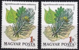 1976, Ungarn, 3170, MNH ** ,Bewaldung Des Millionsten Hektars. - Ungebraucht