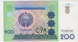 Uzbekistan 200 Sum 1997 (7) P-80 /019B/ - Usbekistan