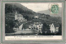 CPA - CORNIMONT (88) - Aspect Du Quartier Meix-Brechets Et De La Grand-Roche En 1907 - Cornimont