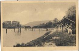 D89 - JOIGNY - LA BAIGNADE DU MAIL - Plusieurs Personnes En Maillots De Bain - Un Baigneur - Carte Sépia - Joigny