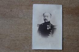 Cdv Second Empire Soldat  Officier Colonel  Genie ?  Avec Ordres Decorations  Par SEE - Fotos