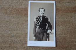 Cdv Second Empire Soldat Militaire  Officier Genie Grande Tenue    Par Franck - Fotos