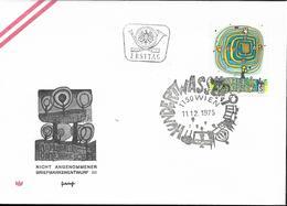 1975 Österreich Mi. 1505 FDC Der Spiralbaum; Gemälde Von Friedensreich Hundertwasser - FDC