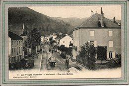CPA - CORNIMONT (88) - Aspect De La Rue Des Gollets En 1905 - Cornimont