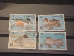 KIRIBATI - 1999 UCCELLI  4  VALORI - NUOVI(++) - Kiribati (1979-...)