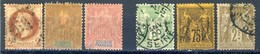 Frtance & Colonies 6 Very Old Stamps, Second Choice, Used - France
