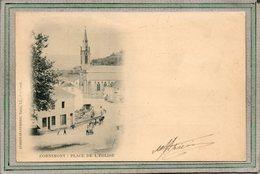 CPA - CORNIMONT (88) - Aspect De La Place Et Quartier De L'Eglise En 1900 - Précurseur - Cornimont