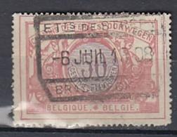 Tr 35 Gestempeld Et Ts De Strépy-Bracquegnies Zeldzame Stempel ! - 1895-1913