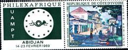 6528B)  COSTA D'AVORIO-1969 -PHILEXAFRIQUE-ABIDJAN -MNH** - Costa D'Avorio (1960-...)