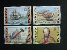 Saint Helena, 1982 Sesquicentennial Of Charles Darwin's Visit Scott #368-371 MNH Cv. 2,25$ - Isola Di Sant'Elena