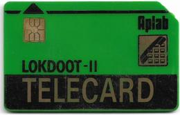 India - Aplab - LOKDOOT (Green), Chip APL 01, Cn. 112771, Used - Indien