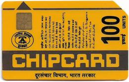 India - Aplab - Bringing Indians Closer, Chip APL 01, Cn. 011506, 100Units, Used - Inde