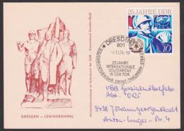 Dresden Lenindenkmal Sost. Dresden 25 Jahre Internationale Solidarität, Basar Ernst-Thälmann-Str., 7.10.74 Tag Der Repub - Covers