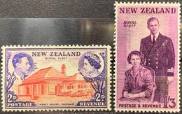 Nouvelle-Zélande Visite Royale 1950 Rouble - Non Classificati