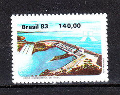Brasile   -  1983. Centrale Idroelettrica. Hydroelectric Power Plant. MNH - Elettricità