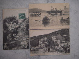 3 Cartes Postales Villefranche Sur Mer  !!!!! - Villefranche-sur-Mer