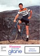 BESNARD Gérard FRA (Saint-Symphorien (Haute-Normandie), 9-5-'45) 1974 Sonolor - Gitane - Radsport