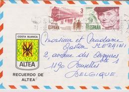 Espagne, Lettre Altea. - 1931-Aujourd'hui: II. République - ....Juan Carlos I