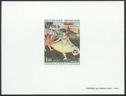1038) N°1653 épreuve De Luxe La Danseuse De Degas - Epreuves De Luxe