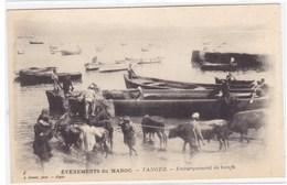 Evènements Du Maroc - Tanger - Embarquement De Boeufs - Tanger