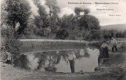 98Aa   58 Montenoison Prés Nevers Lac De Baignade Et Pêche - Altri Comuni