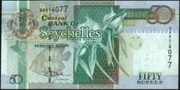 SEYCHELLES - 50 Rupees Nd.(1998) {sign. Norman Weber} UNC P.38 - Seychelles